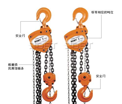 手拉葫芦结构图及说明