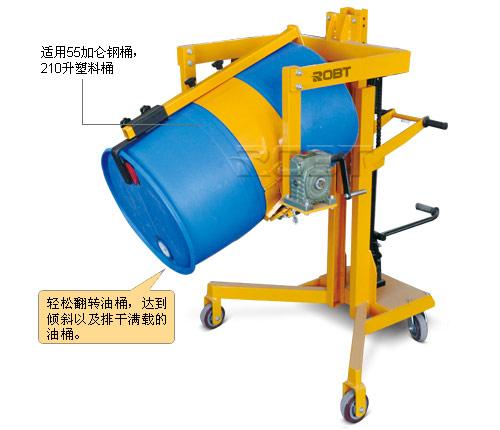 适用油桶尺寸 mm 钢桶φ572~600(55加仑)
